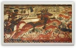 Les chasses du Pharaon, dans l'Egypte antique